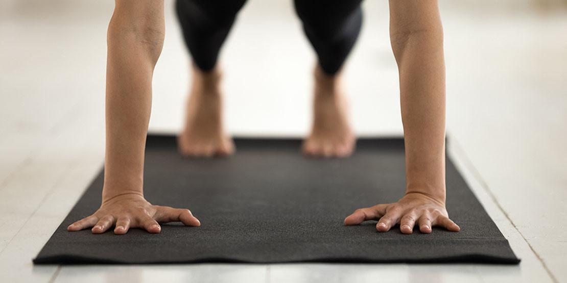 Canterbury Case Study- Person doing yoga
