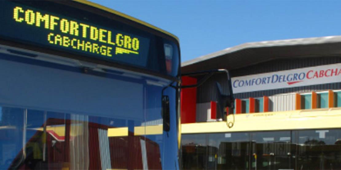 Comfortdelgro Cabcharge- CDC Bus